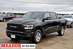 New 2019 Ram 1500 BIG HORN / LONE STAR CREW CAB 4X2 5'7 BOX Crew Cab 1C6RREFT0KN596591 in Fort Worth, TX