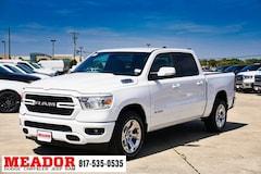 New 2019 Ram 1500 BIG HORN / LONE STAR CREW CAB 4X2 5'7 BOX Crew Cab 1C6RREFT7KN793015 in Fort Worth, TX