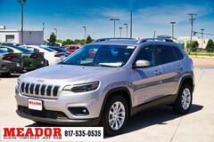 New 2019 Jeep Cherokee LATITUDE FWD Sport Utility 1C4PJLCB9KD428476 in Fort Worth, TX
