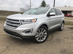 New 2018 Ford Edge Titanium SUV 2FMPK3K8XJBB51677 Commerce, Texas