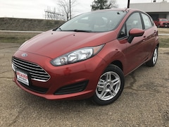 New 2018 Ford Fiesta SE Hatchback Commerce, Texas