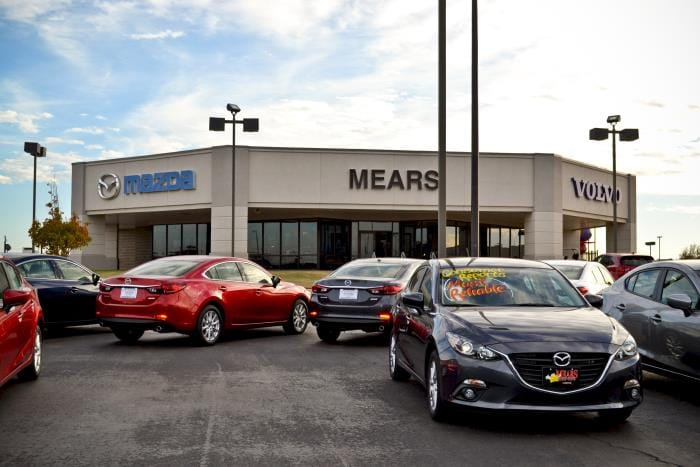 Car Dealerships In Lubbock Tx >> Lubbock Mears Motors New Used Mazda And Volvo Cars
