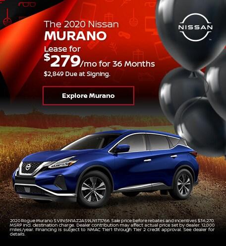 The 2020 Nissan Murano