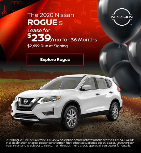 The 2020 Nissan Rogue S