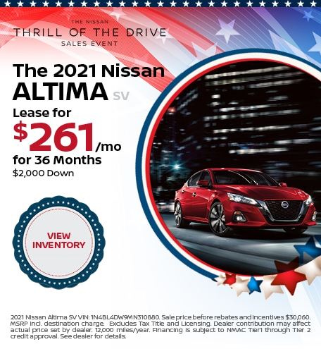 2021 Nissan Altima Lease