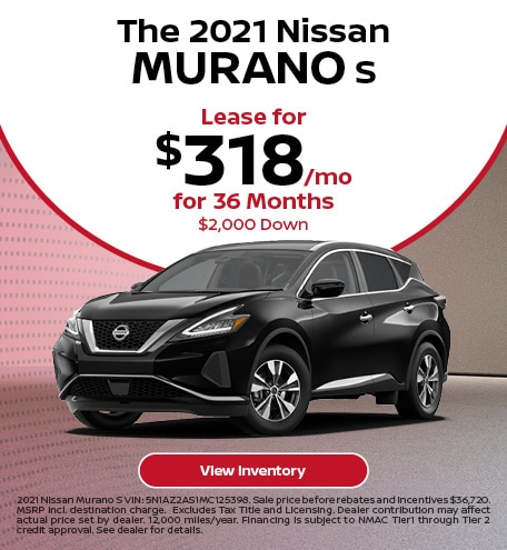 The 2021 Nissan Murano S