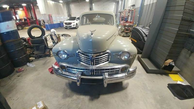 1946 Lincoln Zephyr Sedan