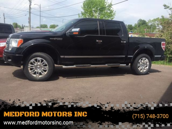 2009 Ford F-150 Platinum 4x4 4dr Supercrew Styleside 5.5 ft. SB Pickup Truck