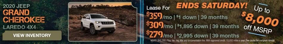 December 2020 Grand Cherokee Lease