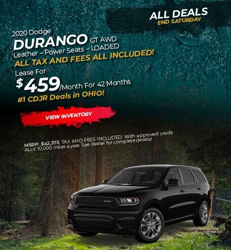 2020 Dodge Durango Lease