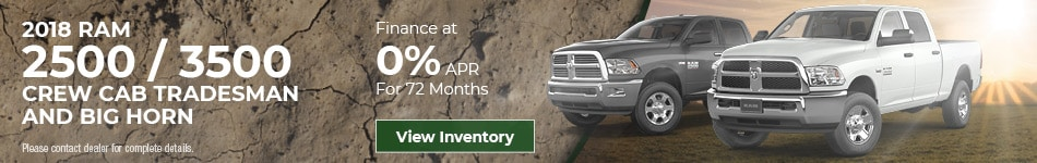 May 2018 RAM 2500/3500 Lease