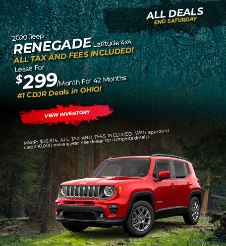 2020 Jeep Renegade Lease
