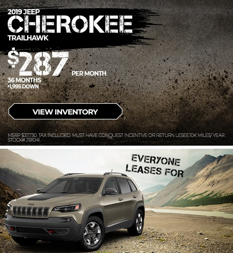 August 2019 Cherokee Lease Offer