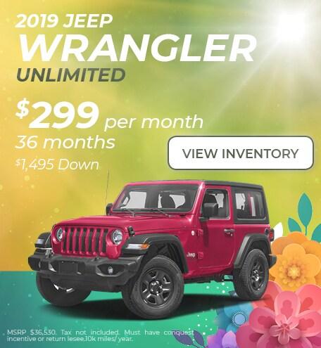 April 2019 Wrangler Lease