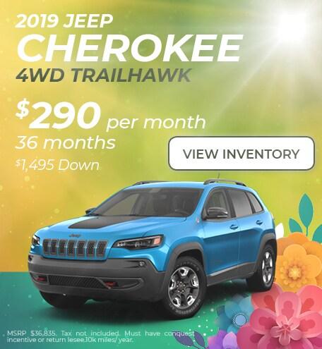 April 2019 Cherokee Lease