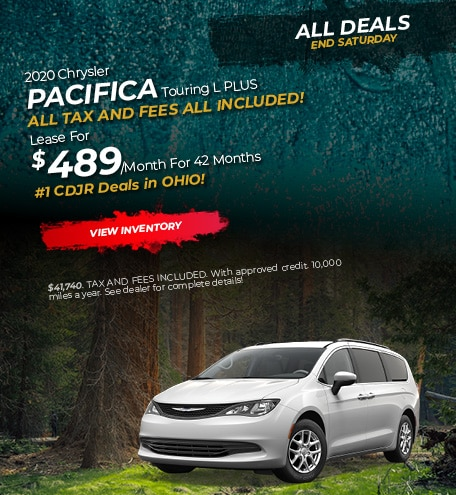 2020 Chrysler Pacifica Lease
