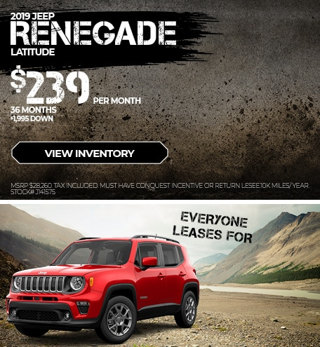 August 2019 Renegade Lease