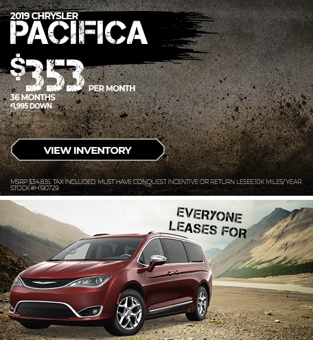 August 2019 Chrysler Pacifica