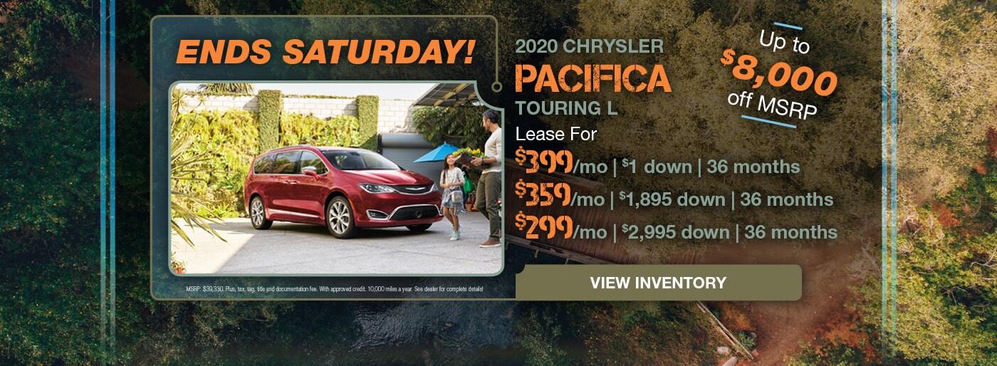 December 2020 Chrysler Pacifica