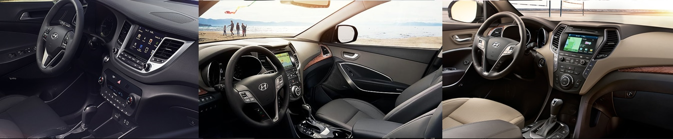 Hyundai SUV Interior Comparison in Rocky Mount, NC