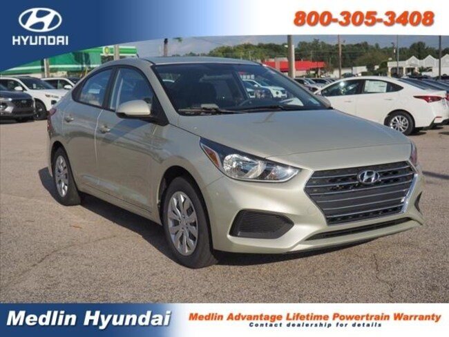 New 2019 Hyundai Accent SE Rocky Mount
