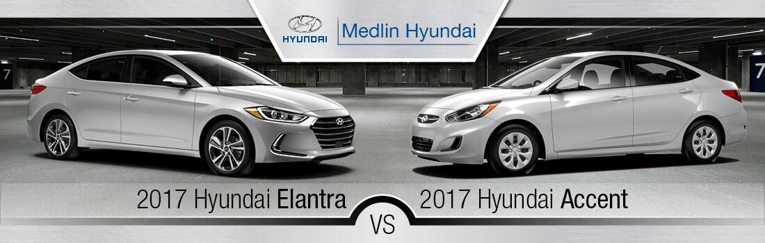 Hyundai elantra vs accent