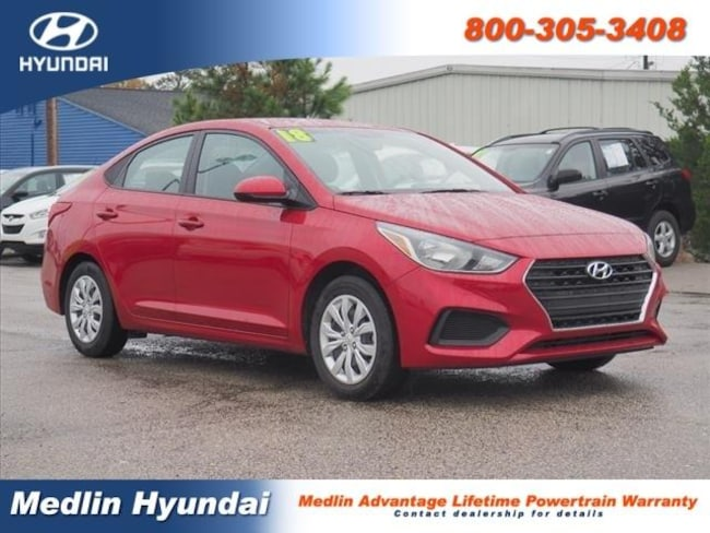Used 2018 Hyundai Accent SE Sedan Rocky Mount