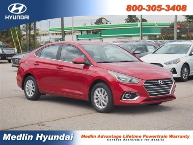 New 2019 Hyundai Accent SEL Rocky Mount