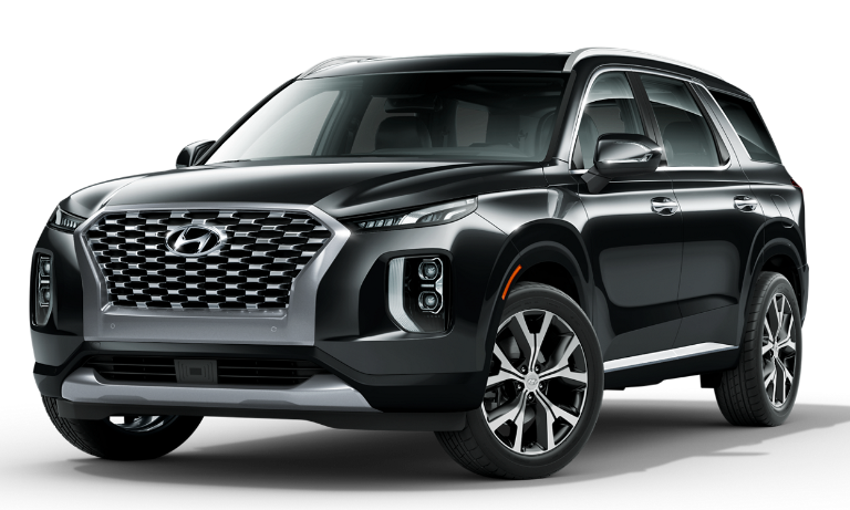 2021 Hyundai Palisade Limited - Becketts Black