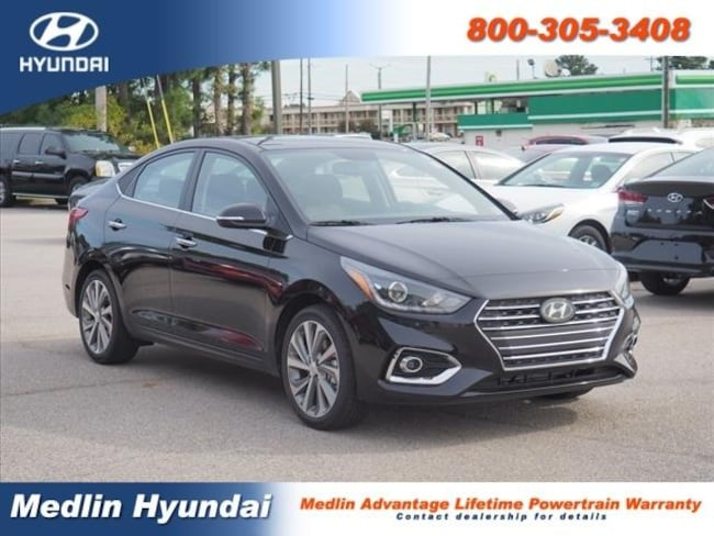 New 2019 Hyundai Accent Limited Rocky Mount