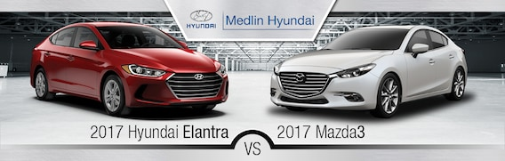 Mazda3 Vs Hyundai Elantra >> 2017 Mazda3 Vs 2017 Hyundai Elantra In Rocky Mount Nc
