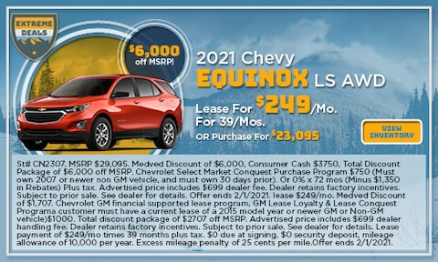 2021 Chevy Equinox LS AWD