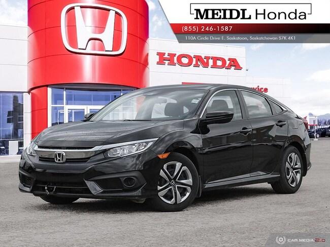 2017 Honda Civic LX w/Honda Sensing *Certified, No Collisions* Sedan