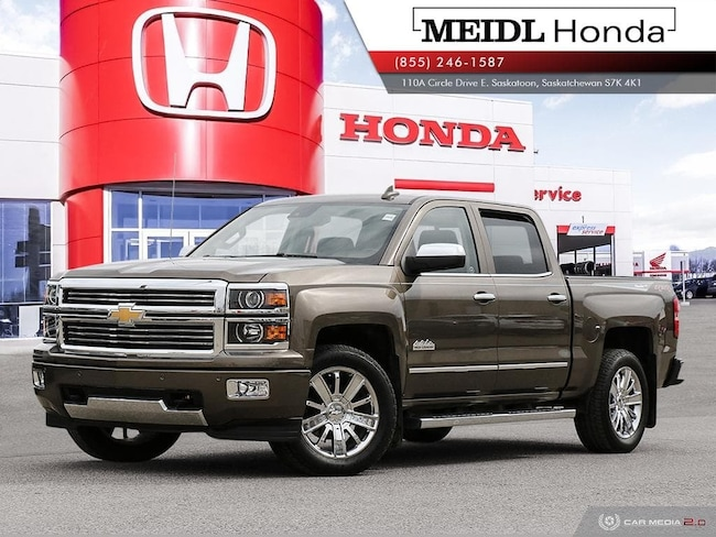 2015 Chevrolet Silverado 1500 High Country 4X4 *No Collisions*