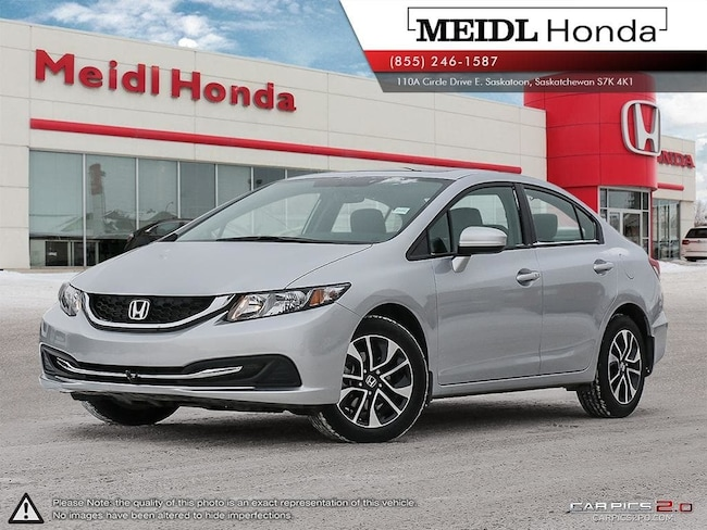 2015 Honda Civic EX *Low Mileage, Extended Warranty!!!* Sedan