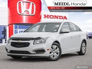 2015 Chevrolet Cruze 1LT Turbo *No Collisions*