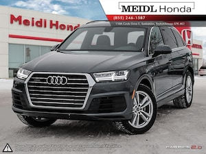 2017 Audi Q7 3.0T Progressiv S-Line *2 sets of tires*