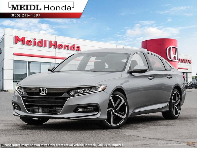 2019 Honda Accord Sport Cvt Sedan