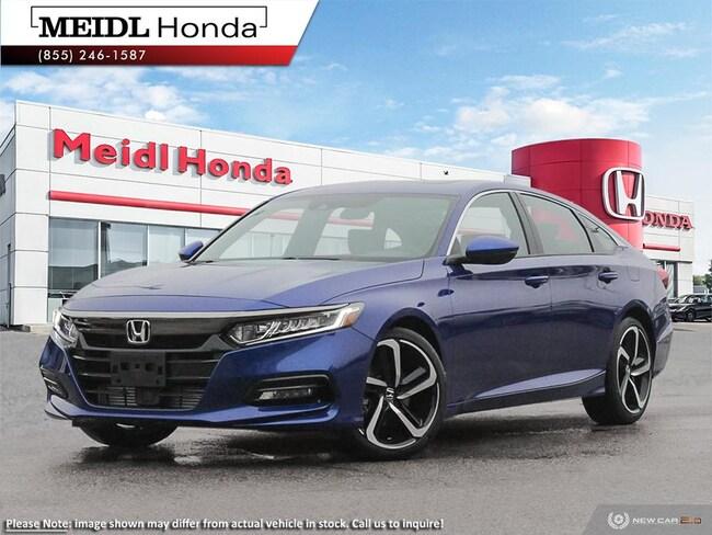2019 Honda Accord Sport Cvt Sedan
