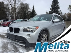 2012 BMW X1 28i, leather, heated steering wheel, panoramic sun SUV