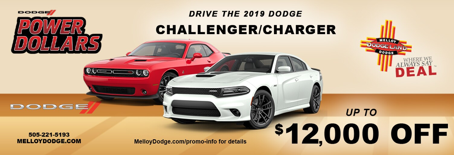 2019 Dodge Challenger Lease and Specials in Albuquerque New Mexico