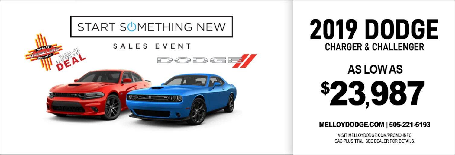 Dodge Start Something New Sale near Los Lunas NM
