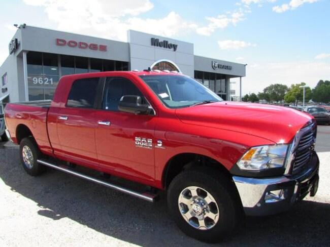 New 2018 Ram 2500 BIG HORN MEGA CAB 4X4 6'4 BOX Mega Cab Albuquerque, NM