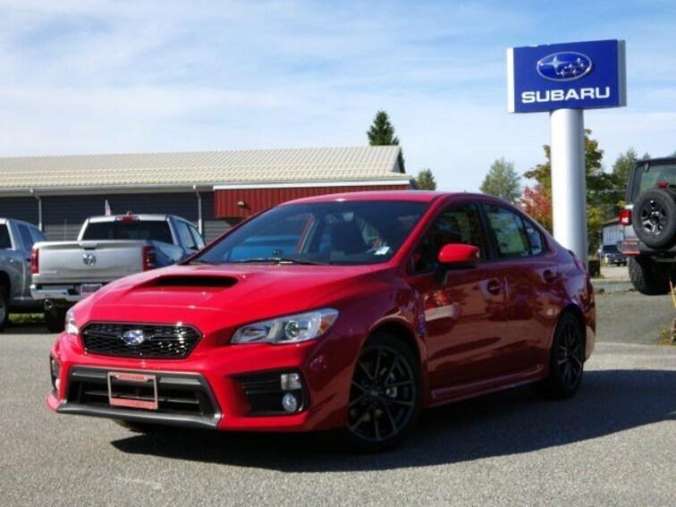 New 2019 Subaru WRX Premium (M6) Sedan For Sale in Juneau, AK