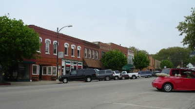Marseilles, IL Downtown Area