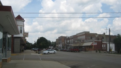 Amboy, IL Downtown Area
