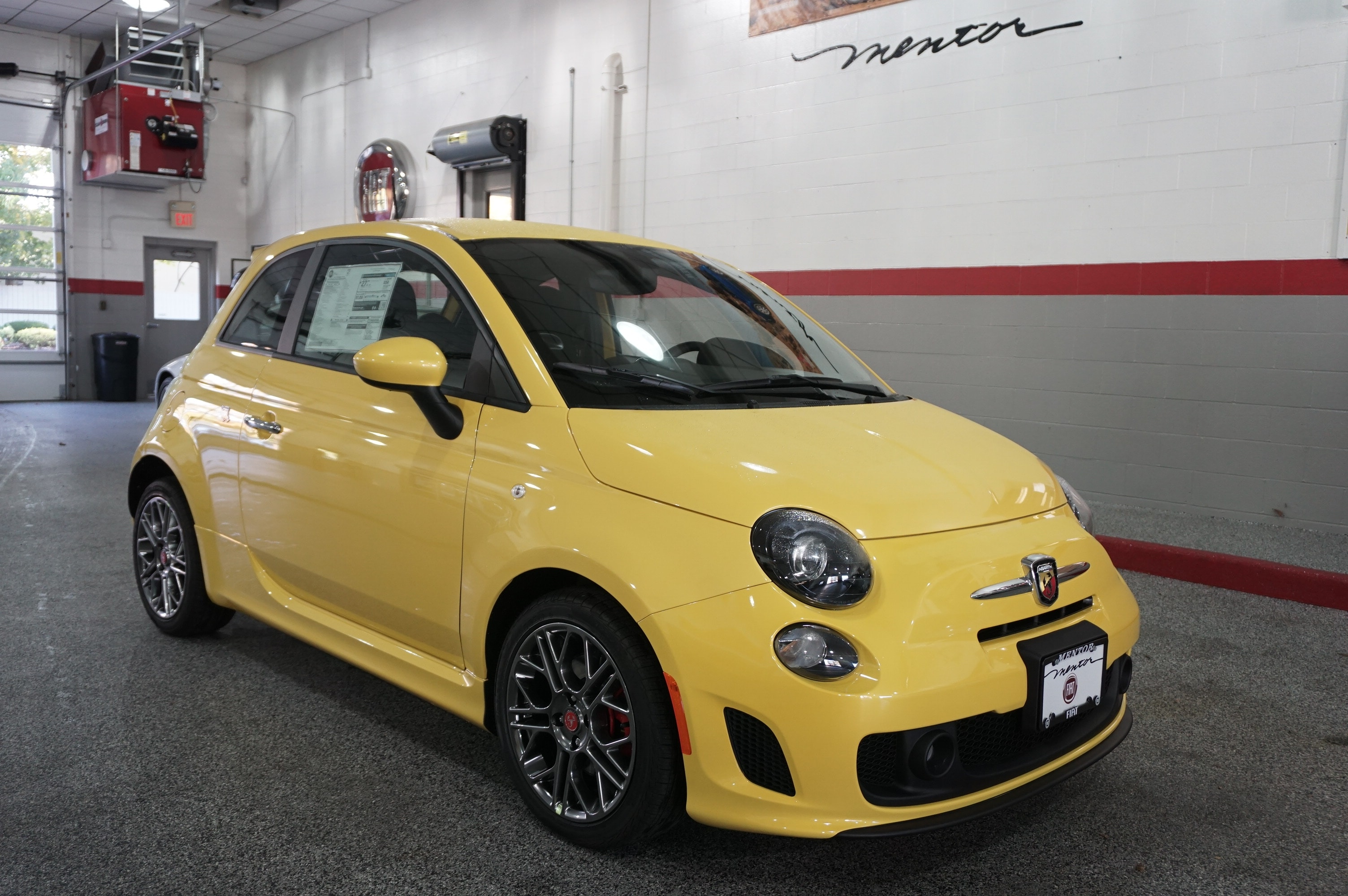 new 2016 fiat 500 abarth for sale in mentor oh stock f130201. Black Bedroom Furniture Sets. Home Design Ideas
