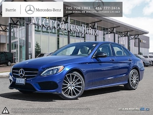 2018 Mercedes-Benz C300 4MATIC! 0.9%! Demo Vehicle! Sedan