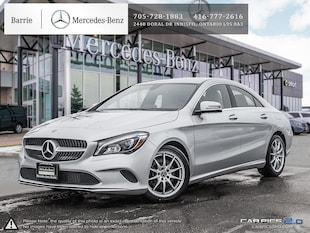 2018 Mercedes-Benz CLA 250 0.9%! Demo Vehicle! Employee Driven! Sedan