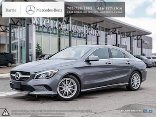 2018 Mercedes-Benz CLA 250 4MATIC Sedan